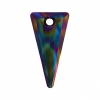 Swarovski Pendant 6480 Spike 28mm Crystal Rainbow Dark 36pcs